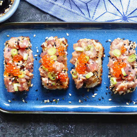 Spicy Tuna Crisp
