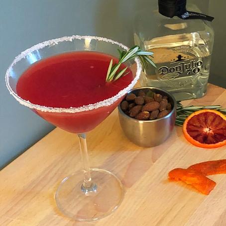 Blood Orange Winter Margarita