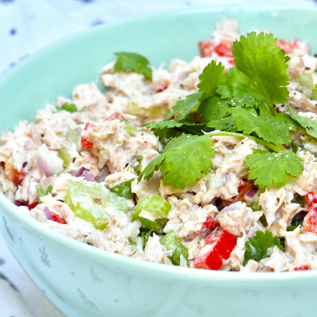 Tuna Salad with Greek Yoghurt