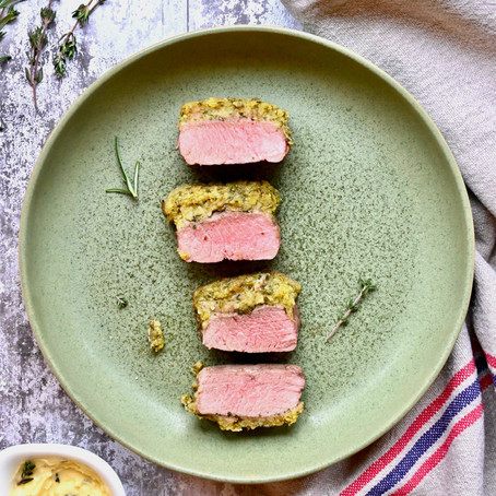 Herb & Mustard Crust Lamb Loins