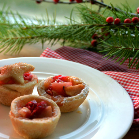 Pear Cranberry Pies & Tart