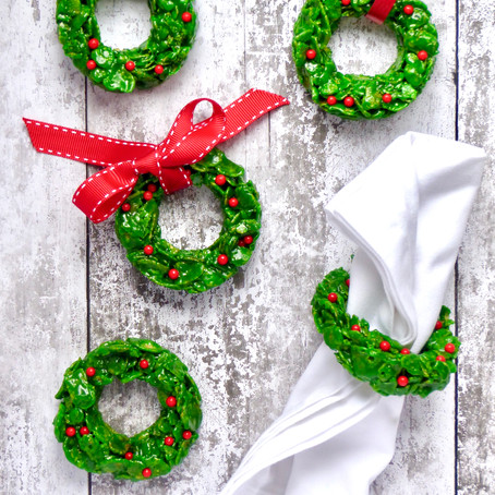 Christmas Cornflakes Wreaths