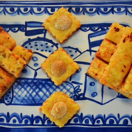 Dutch Cheese Biscuits