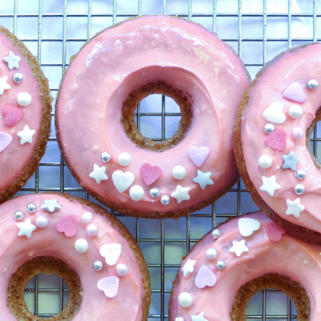 Mother's Day Carrot Cake Donuts