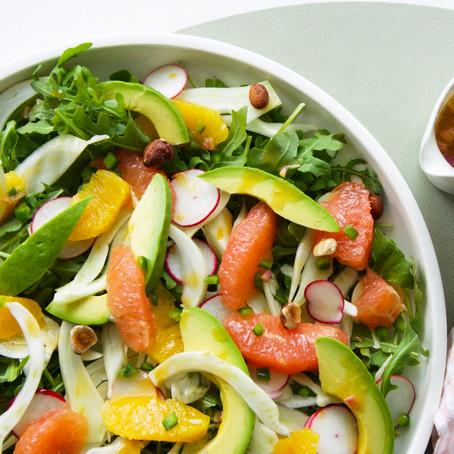 Avocado, Citrus & Fennel Salad