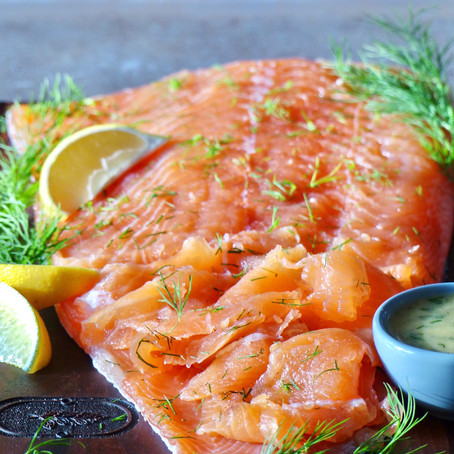 Gravlax (Cured Salmon)