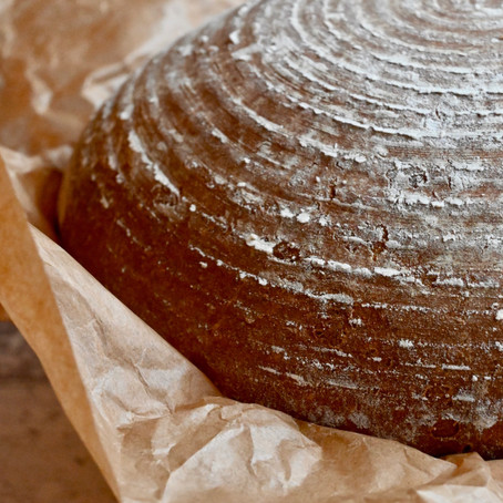 German Graubrot (Grey Bread or Mixed Bread)
