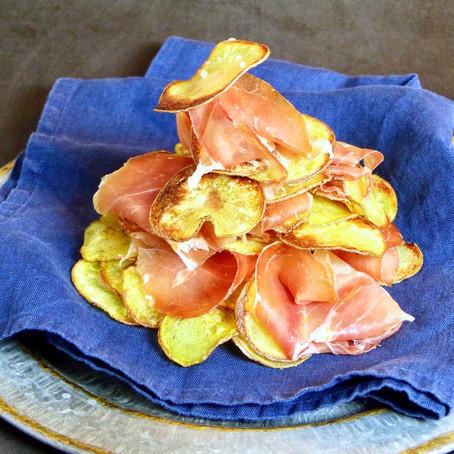 Paleta Ibérico Con Chips (Ibérico Ham with Potato Chips)