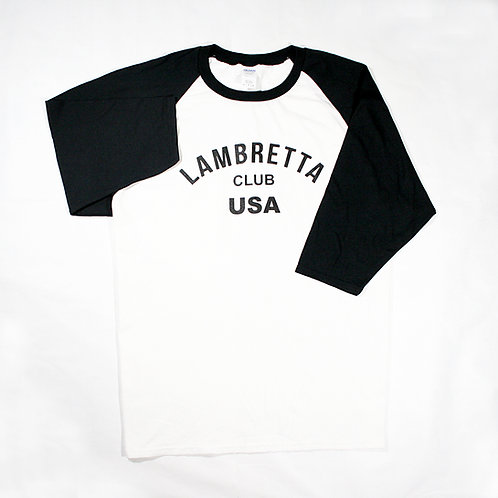 LCUSA Baseball T-Shirt B&W