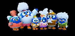Beachbuds Main Characters