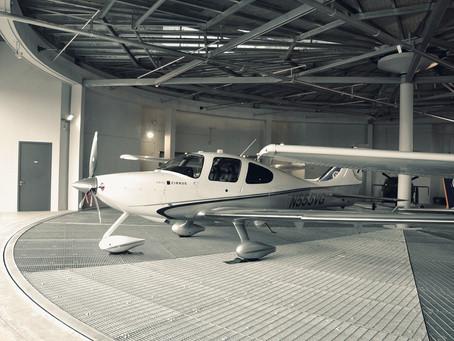 SCHÄTZ - Selatar Aerospace Hub Two-Level Aircraft Hanger Facilities