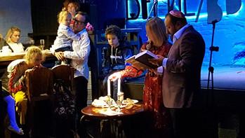 Семейная Рош-а-шана в клубе Вермель