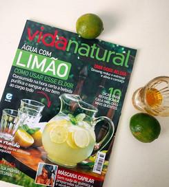Saiu na revista Vida Natural de Janeiro