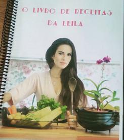 O livro de receitas da Leila #receitasdo