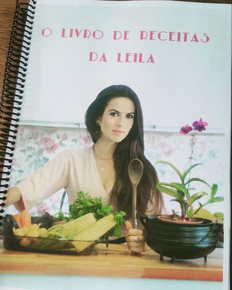 O livro de receitas da Leila