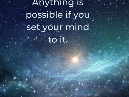Set Your Mind to Achieve