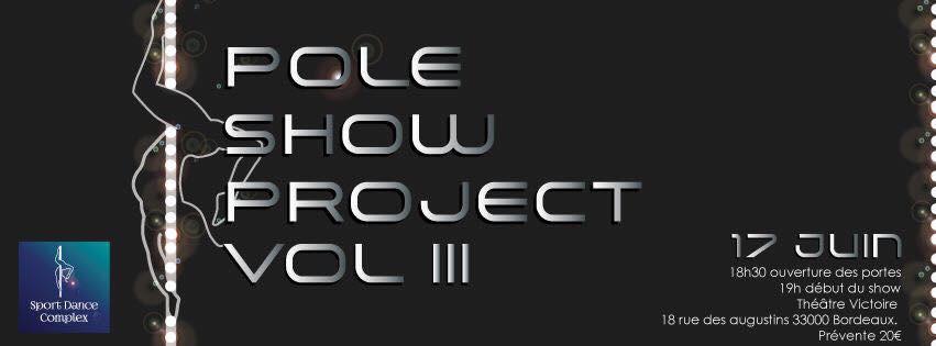 Pole Show Project, spectacle de Pole Dance en France