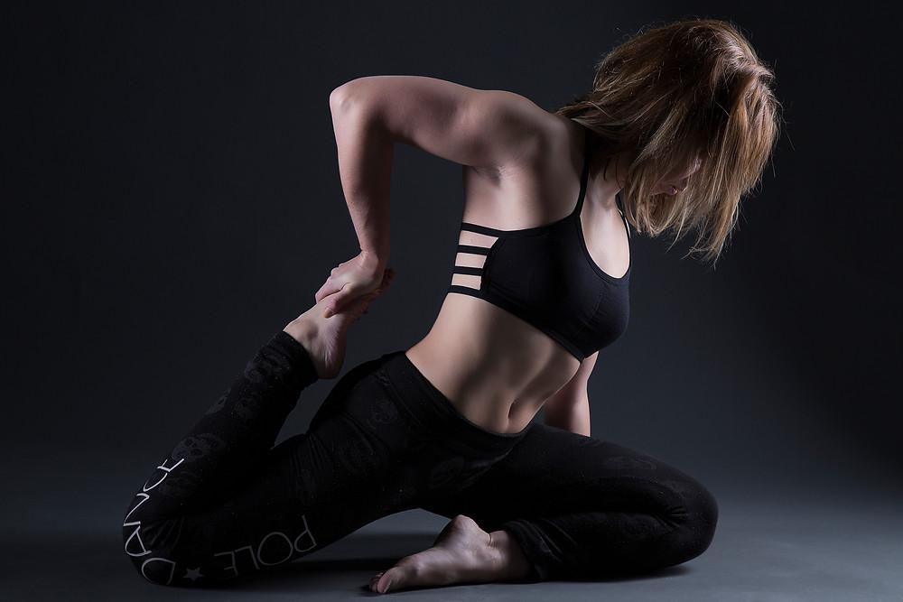 Delf Doga Stretch for Pole Dance