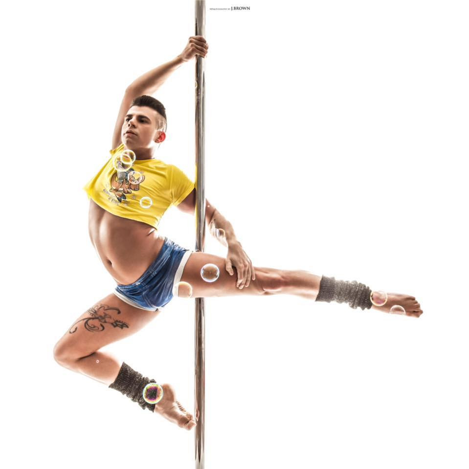 Geoffroy Letailleur Vice Champion de la compétition française de Pole Dance
