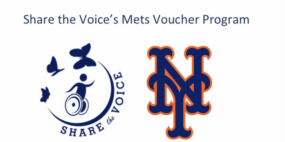 Share the Voice's Mets Voucher Program