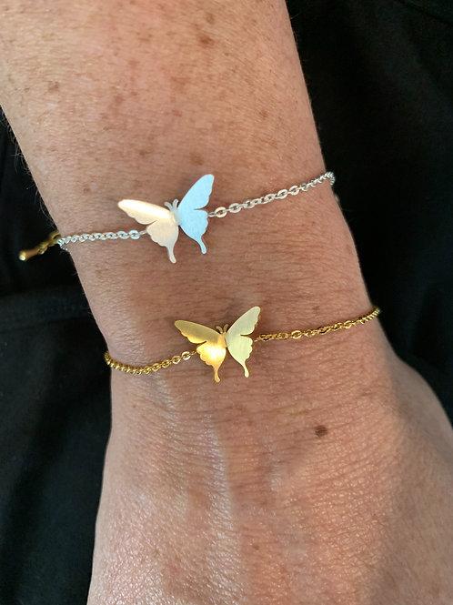 GOLD Butterfly Bracelet