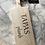 """Thumbnail: Steigerhouten """" TAPAS plank"""" 55 cm"""