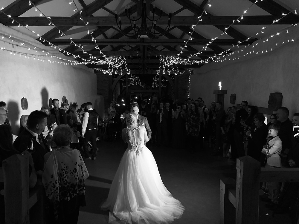 First dance at Upton Barn and Walled Garden