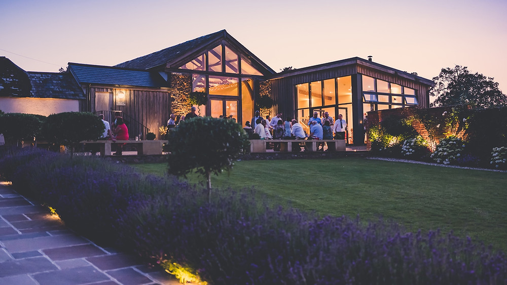 Upton Barn and Walled Garden - Wedding venue