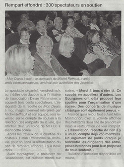 OUEST FRANCE 26 avril 2015 Spectacle Jeffrault.jpg
