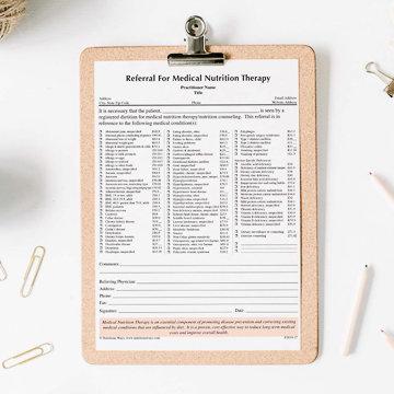 Referral for MNT Form