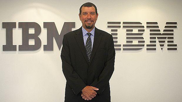 Álvaro Merino Reyna fue nombrado gerente general de IBM Perú en enero. (Foto: Archivo El Comercio)