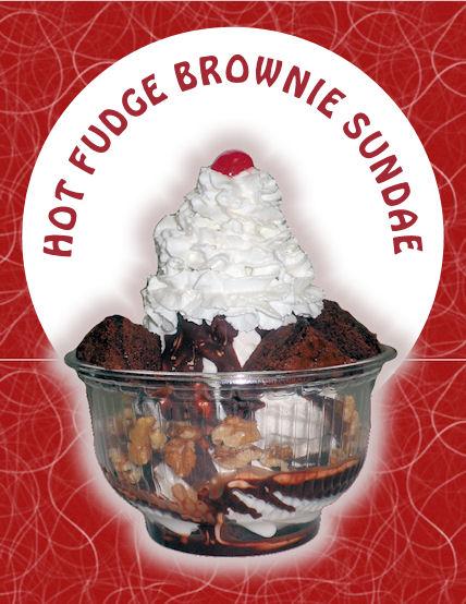 A classic sundae in a big ol' bowl