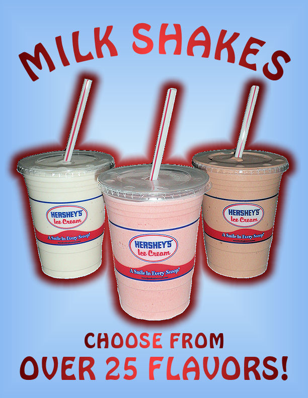 Endless Milkshake Options