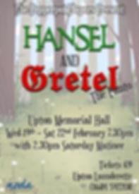 Hansel and Gretel - Poster (v1) - Smalle