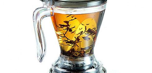 Magic tea and coffee maker