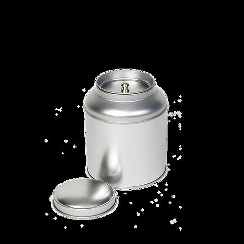 Zilver thee blikje