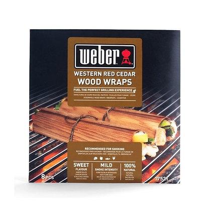Weber - Wraps da affumicatura - Cedro rosso del Pacifico