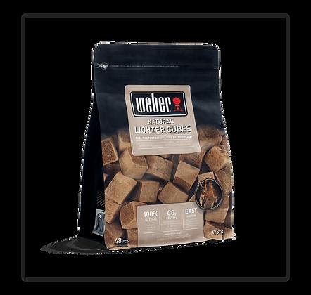 Weber - Cubetti accendifuoco 48pz