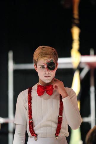 General rehearsal of Alice in Wunderland at Theater Tempus Fugit Lörrach DE