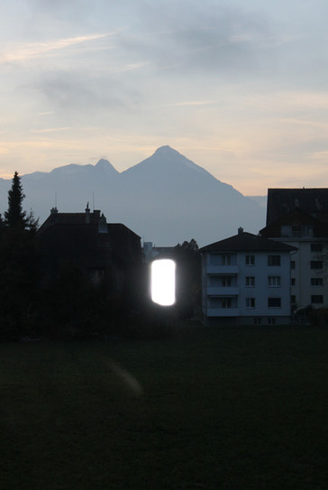 The light at the end of one tunnel, Interlaken 2015