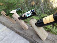 Hand made wine holder balancers