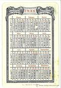 calendari 1936