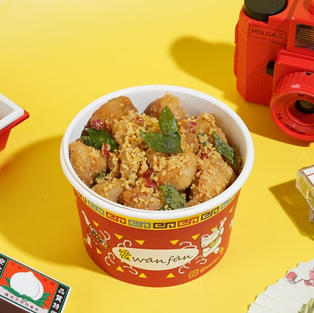 CEREAL CHICKEN RICE