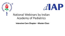 Intensive Care Chapter - Master Class