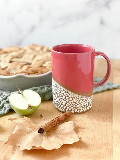 Cranberry Crackle Mug