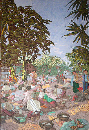 Mural from Royal Palace