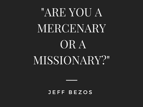 ARE YOU A MERCENARY OR MISSIONARY BUSINESS LEADER?