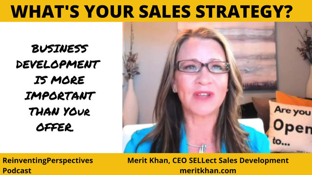 WHAT'S YOUR SALES STRATEGY?
