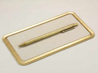 BRASS 2WAY FLAT TRAY